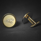 Towson Engraved Cufflinks