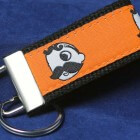 Natty Boh Key Fob - orange
