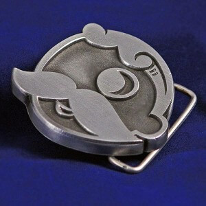 Natty Boh Belt Buckle - front