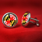Maryland Flag Cufflinks