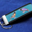 Birds of Baltimore Fob - Turquoise