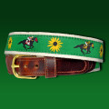 Off to the Races Tab Belt