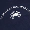 Charm City Clothing T-Shirt Mens Blue