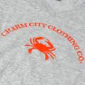 Charm City Clothing T-Shirt Mens Gray