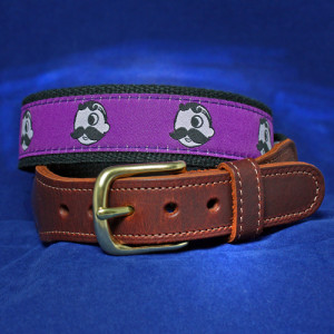Natty Boh belt - purple